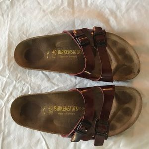 Birkenstock Sandals- barely worn!